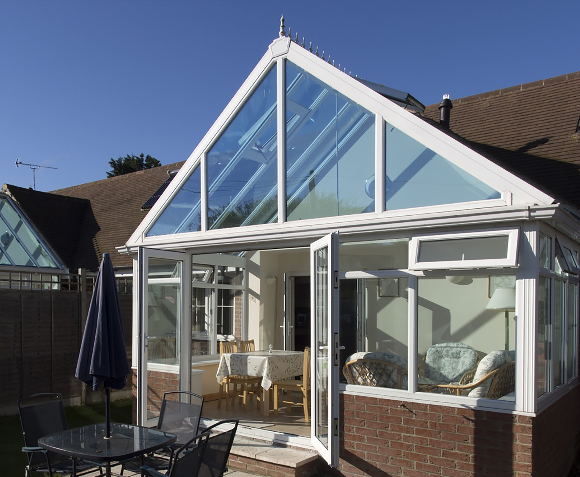 glass conservatory roof cost buckingham